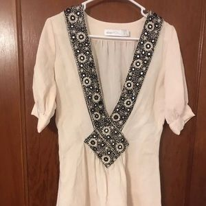 Alice McCall boho bead detail mini dress size xs